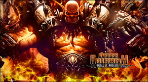 Garrosh Hellscream by Shogun-SHG