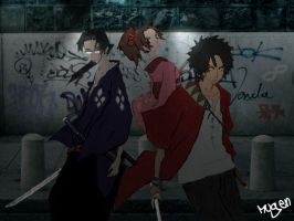 Impressionistic Champloo by Mugen02
