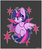Cutie Mark -  Twilight Sparkle by ILifeloser