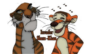 Invader Shere Khan... by Garfield141992