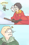 HP: DON'T MESS WITH HEDWIG by Randomsplashes