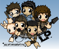 Linkin Park by amy-art