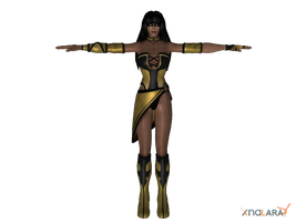 Mortal Kombat - Tanya by deexie