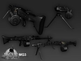 MG-3 textured by senor-freebie