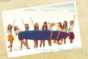 SNSD - Fun in the Sun by sayhellotothestars