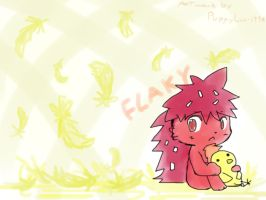 Flaky :D by PuppyLuv-1994