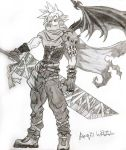 Cloud Strife by Girl-Gamers