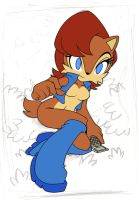 Sally Acorn by nancher