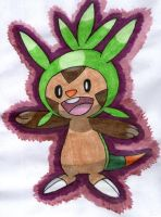 Chespin by twilightlinkjh