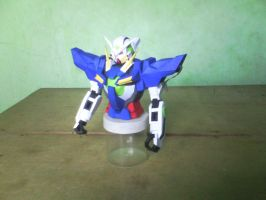 Gundam Exia W.I.P: Part 3 by MarcGo26