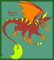 Alyen by GhostyRaptor