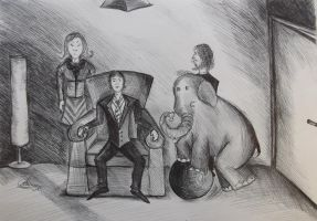 Elephant in the room by Anita-Sanderson