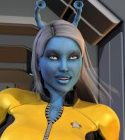Starfleet's Finest Closeup by willdial
