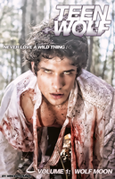 Teen Wolf Comic - Volume 1: Wolf Moon - Cover by MageStiles