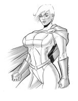 Power Girl by Bondagedean