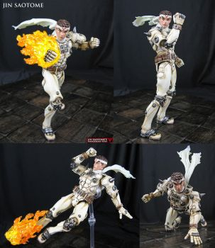 Jin Saotome Marvel Select custom action figure by Jin-Saotome