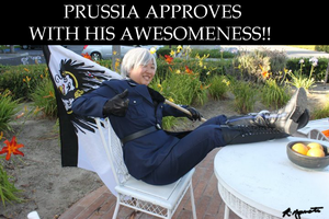 Prussia Approves!! Kesesese!! by rinyamato2690