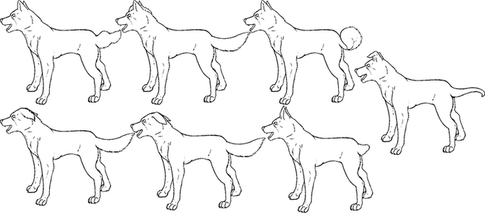 Free Ginga Lineart by snailkites