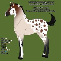 Zabana - Foal Design - Nordanner #344 by Feathersun
