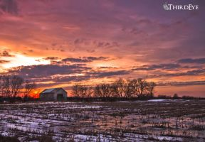 Country Bumpkin Sunset by The-ThirdEye