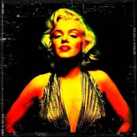 Marilyn's Golden Lost Pic by zombis-cannibal