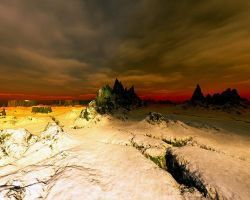 Frozen Wasteland by hypnotic
