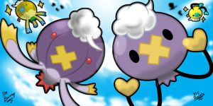Drifloon and Drifblim!