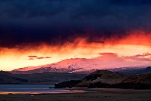 Iceland-amazing vanilla sky by PatiMakowska