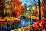 Sublime Park by Leonid Afremov by Leonidafremov