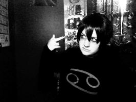 Karkat cosplay by Roselynd