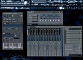 FL Studio 7 Energy Skin-Pack by NeoMarine