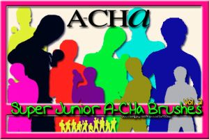 Super Junior A-CHa Brushes 2 by NileyJoyrus14