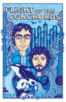 Flight of the Conchords by jonito