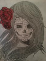 Day of the dead Girl by DannyMacUilliam