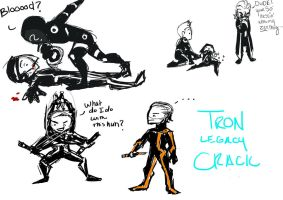 Tron Legacy CRACK by BlackInkHeart