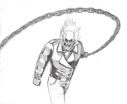 Ghost Rider by KautheLion