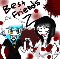 MemeSkyKitten247 and Ask-JeffreyTheKiller BROFIST! by Xx-MayhemOnMisery-xX