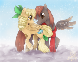 Snowflakes in Equestria by Eevie-chu