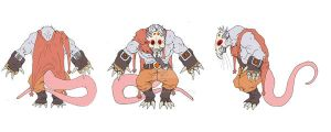 Character Design: Rodents 2 by BAM---BAM