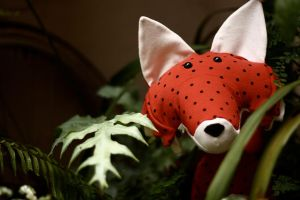 Strawberry Fox by NataliaVulpes