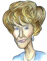Katherine Chancellor by Caricature80
