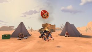 TF2 camping with Mario's head by 0640carlos