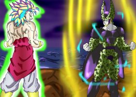 Ultamite Cell Legendary Broly by angers
