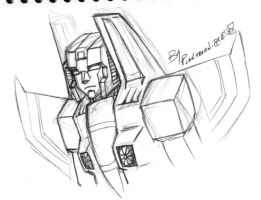 TF - Thundercracker Doodle by plantman-exe