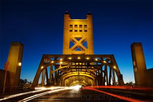 Tower Bridge Sacramento 2 by C-Zavala