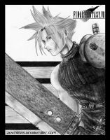 Cloud strife by Zentagas