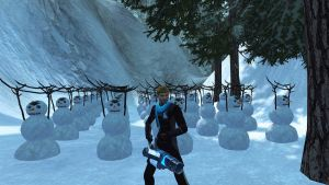 Army of Snowmen by FBOMBheart