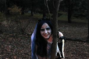 Corpse Bride photo shoot by Elentari-Liv