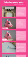 My little pony eye tutorial by lovelauraland