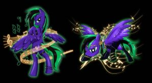 Commision: Daring Symphony Shirt Desings by Ilona-the-Sinister